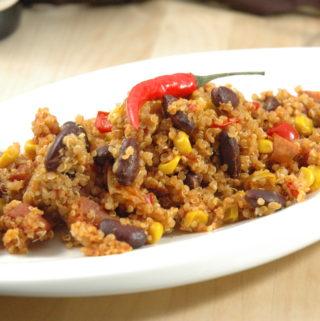 Mexikanische Quinoa Pfanne