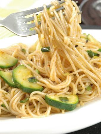 Thai Zucchini Spaghetti