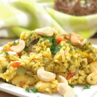 Paella-vegan Style