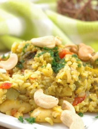 Gemüse Paella-vegan Style
