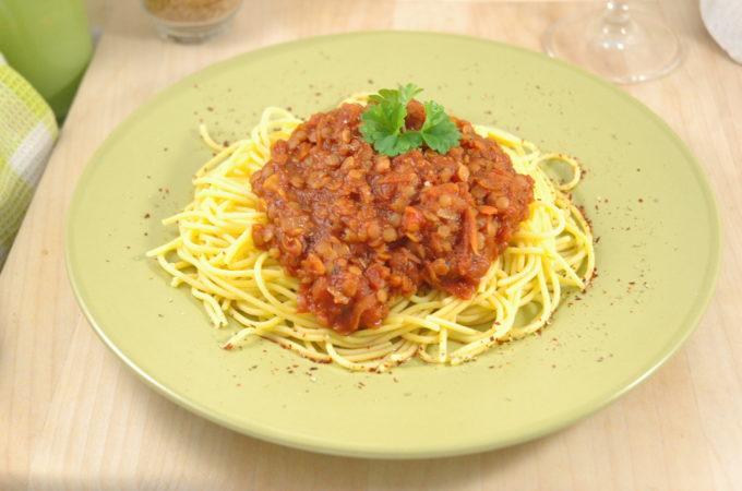 Spaghetti - Linsenbolognese