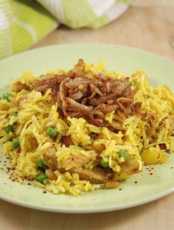 Syrische Reispfanne – vegan umgekocht