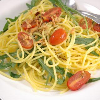 Glutenfreie Spaghetti di Rucola