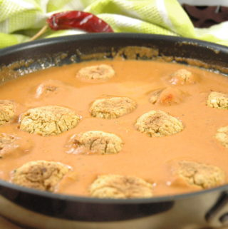 Veganes Falafel Curry